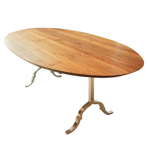Teak Oval Table - HSP